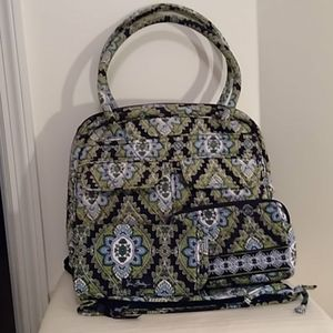Vera Bradley purse set.